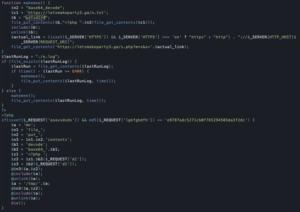 Infekcja letsmakeparty3 - plik header.php w wersji czytelnej